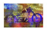 Bobber Moto Stampa giclée di Greg Simanson