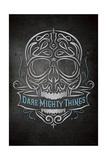 Dare Mighty Giclée-Druck von Greg Simanson