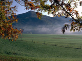 Cades Cove Stretched Canvas Print by J.D. Mcfarlan