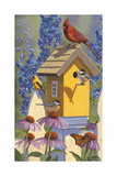 The Yellowbird House Giclee Print by Jeffrey Hoff