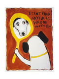 I Can't Find Anything Wrong with You Giclée-Druck von Jennie Cooley