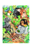 Selva Impressão giclée por Karen Middleton
