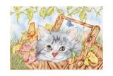 Lily Basket Impressão giclée por Karen Middleton
