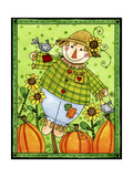 A Patchy Scarecrow Giclee Print by Jennifer Nilsson