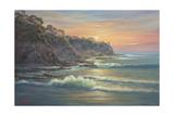 South Coast Sunrise Gicléedruk van John Bradley