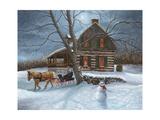 Winter Moonlight Reproduction procédé giclée par Kevin Dodds