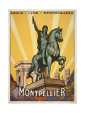 Montpellier Giclee Print by Marcus Jules