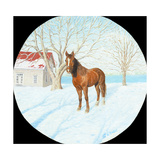 Winter on the Farm Reproduction procédé giclée par Kevin Dodds