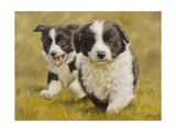 Puppies Giclee Print by John Silver