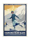 Chamonix - Mont Blanc Giclee Print by Marcus Jules