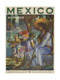 Xochimilco Reproduction procédé giclée par Marcus Jules