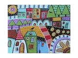 Motley Landscape 1 Lámina giclée por Karla Gerard