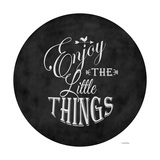 Enjoy the Little Things Stampa giclée di Leslie Wing