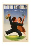 Loterie Nationale Giclée-vedos tekijänä Marcus Jules