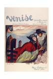 Venecia Lámina giclée por Marcus Jules