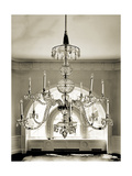 Crystal Chandelier Giclee Print by Mindy Sommers