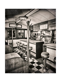 Retro Diner Giclee Print by Mindy Sommers