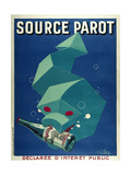 Source Parot - Vertical ジクレープリント : Marcus Jules