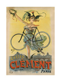 Cycles Clement Paris Giclee Print by Marcus Jules