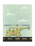 Helicopter Giclee Print by Michael Murdock