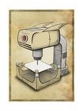 Machine 2 Giclee Print by Michael Murdock