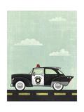 Police Giclee Print by Michael Murdock
