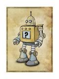 Robot 2 Giclee Print by Michael Murdock