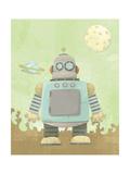 Kids Robot Giclee Print by Michael Murdock