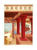 Greece Cnossos Giclee Print by Marcus Jules
