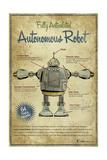 Autonomous Robot Giclee Print by Michael Murdock