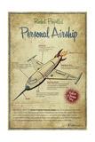 Airship Giclee Print by Michael Murdock