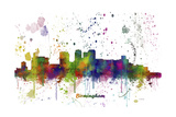 Birmingham Alabama Skyline MCLR 1 Reproduction procédé giclée par Marlene Watson
