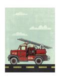 Truck Giclee Print by Michael Murdock