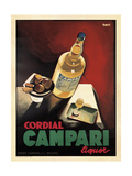 Campari cordial Lámina giclée por Marcus Jules