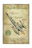 Star Cruiser Giclee Print by Michael Murdock
