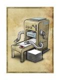 Printer Giclee Print by Michael Murdock