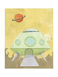 Kids Alien Giclee Print by Michael Murdock