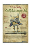 Owl Giclee Print by Michael Murdock