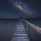 Milky Way in Florida Reproduction photographique par Moises Levy