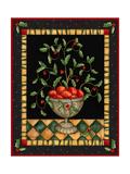 Apples in Dish Reproduction procédé giclée par Robin Betterley