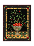 Apples in Dish Giclee Print by Robin Betterley