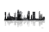 Houston Texas Skyline BG 1 ジクレープリント : Marlene Watson