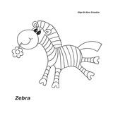 Zebra Giclee Print by Olga And Alexey Drozdov