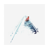 From Nowhere to Nowhere Giclee Print by Robert Farkas