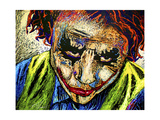 Joker Dripped001 Giclee Print by Rock Demarco