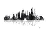New York New York Skyline BG 1 Reproduction procédé giclée par Marlene Watson