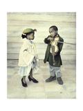Violin Serenade Giclee Print by Nora Hernandez