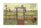 Trellis Giclee Print by Robin Betterley