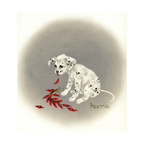 Dalmation 5 - Chile Dog Giclee Print by Peggy Harris