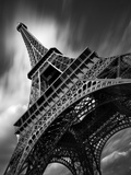 Eiffel Tower Study II Fotografisk tryk af Moises Levy